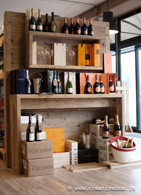 Enoteca - Creative Box falegnameria Reggio Emilia